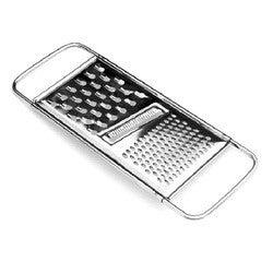 compra en línea Rallador plano 3 cortes de acero inoxidable Patisse (27 x 11 cm)