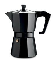 Achat en ligne Cafetière italienne en aluminium vernis noir 6 tasses