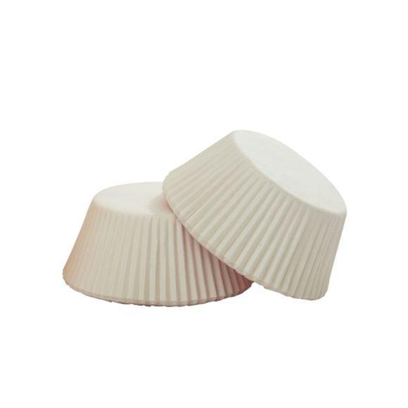 Pirottini bianco da 5 cm, 75 pezzi
