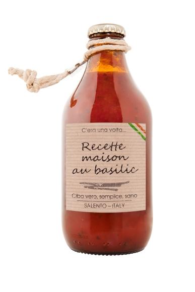 Achat en ligne Sauce tomate italienne au Basilic, 330g