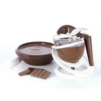 Doseur à chocolat avec piston