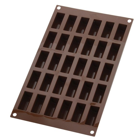 Moule silicone 30 mini-bûches