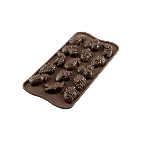 Moule silicone chocolat Choco Fruits