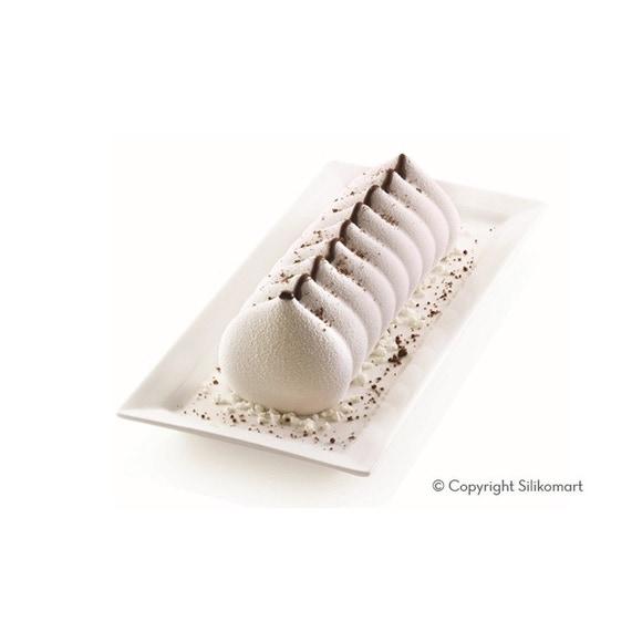 Achat en ligne Moule 3D meringue en silicone 25x9cm Meringa