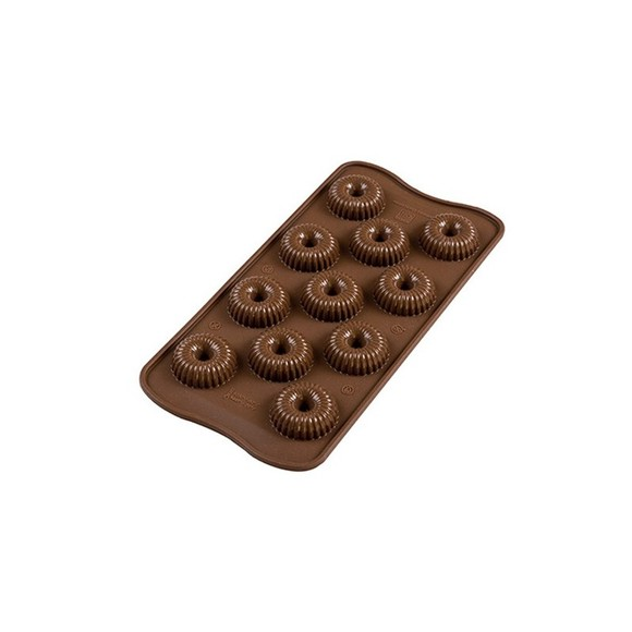STAMPO CHOCO CROWN SILICONE