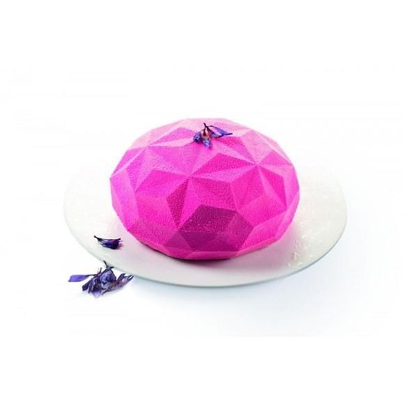 Moule 3D pierre précieuse en silicone 18cm Gemma