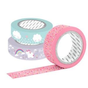 Achat en ligne Masking tape Licorne x3