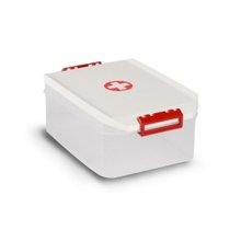 Achat en ligne Boîte à pharmacie en plastique blanc 4,5 L 19x29x12cm
