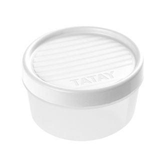 Boite de conservation avec couvercle à vis en plastique 0,5l