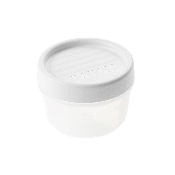 la meilleure attitude 42cb8 e39b3 Boite de conservation avec couvercle à vis en plastique 0,2L