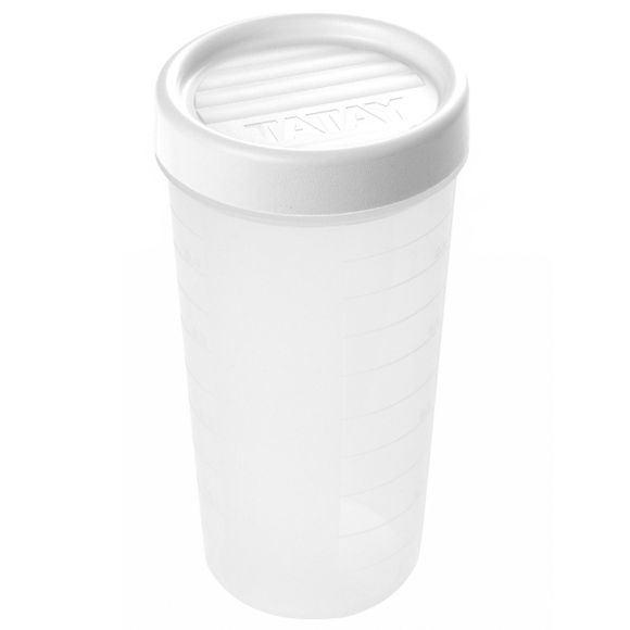Achat en ligne Boite de conservation avec couvercle à vis en plastique 0,6L
