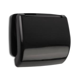 TATAY - Dérouleur papier toilette petra noir