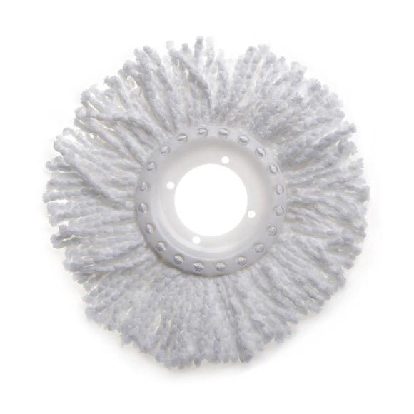 Recharge balai avec franges 100% microfibre Twister Ø25cm