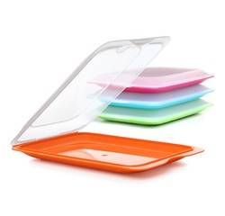 compra en línea Tupper de plástico hermético para lonchas Tatay (25 x 17 cm)
