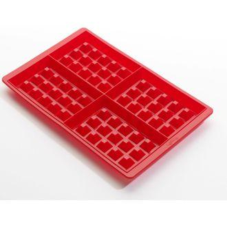 LEKUE - Lot de 2 plaques moules pour gaufre en silicone