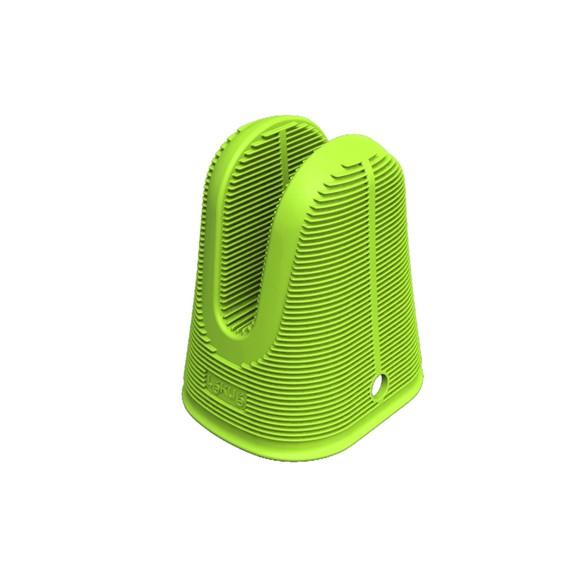 Presina in silicone verde