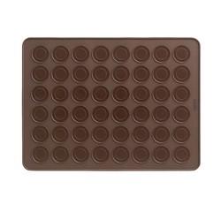 Achat en ligne Plaque à 24 macarons en silicone 40x30cm