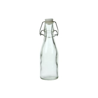 Verrine bouteille en verre transparent 15cl