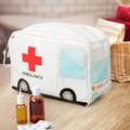 Trousse à pharmacie en PVC Ambulance 17x24x12cm