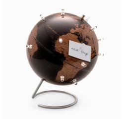 acquista online Mappamondo magnetico nero e rame, 23cm