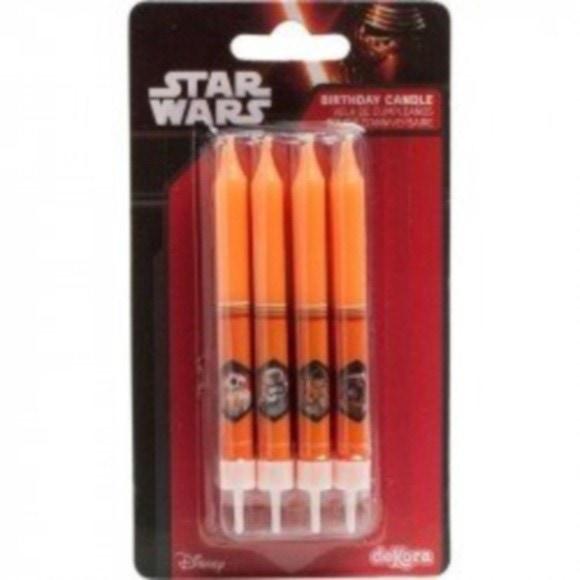 Bougies Star Wars x8