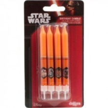 Achat en ligne Bougies Star Wars x8