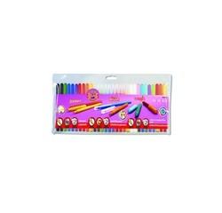 Achat en ligne Pochette de 30 feutres ergonomiques et lessivables
