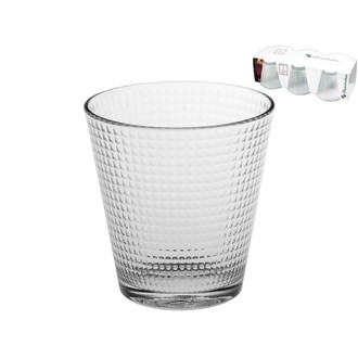 Set de 6 verres transparents Generation