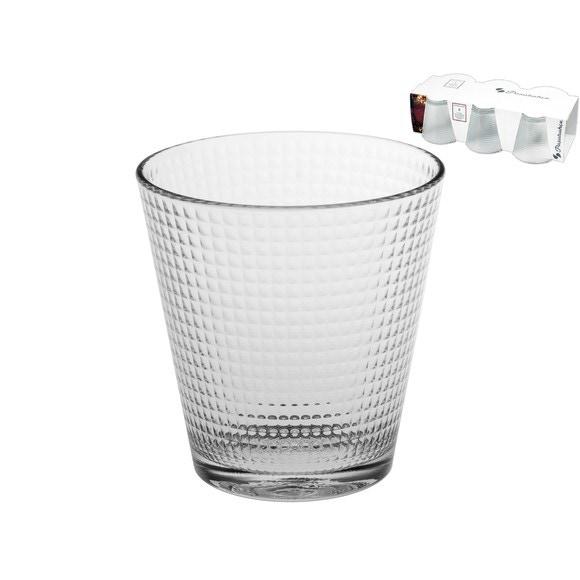 Set de 6 verres transparents Generation