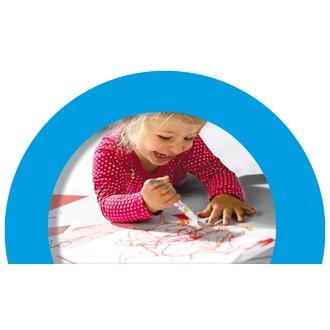 Marqueurs bébé 8 couleurs My First pour les tous petits