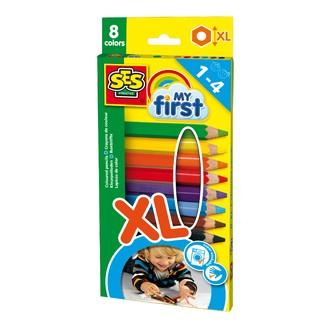 Crayons de couleur My First + Crayons de gros diamètres pour les plus petits