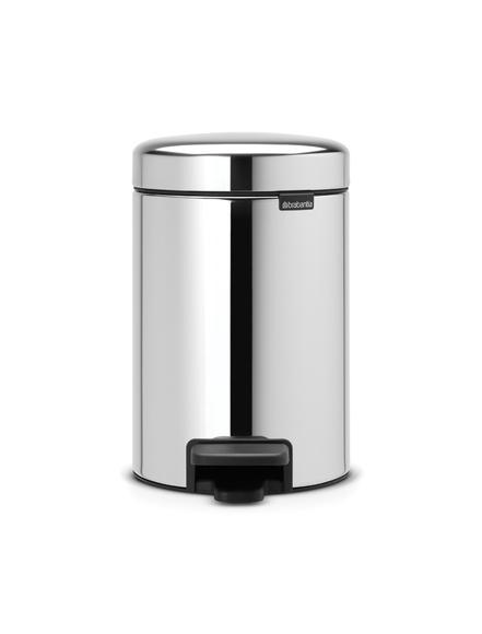 Achat en ligne Poubelle à pédale newIcon 3 litres acier brillant