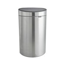 Achat en ligne Poubelle en inox mat Touch bin 40 litres