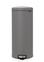 Achat en ligne Poubelle à pédale newIcon 30 litres grise