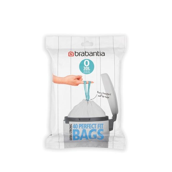 Lot 40 sacs poubelle perfectfit O 30 litres