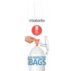 Achat en ligne Lot 20 sacs poubelle perfectfit B 5 litres