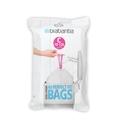 Lot 40 sacs poubelle perfectfit C 10-12 litres