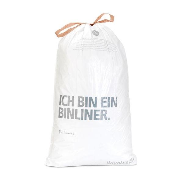Lot 10 sacs poubelle perfectfit L 45 litres