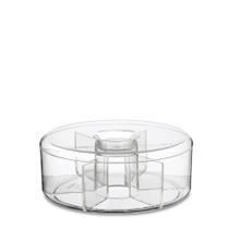 Achat en ligne Boite à thé ronde en acrylique