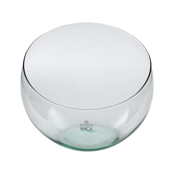Achat en ligne Coupe forme arc de cercle en verre H21x24cm
