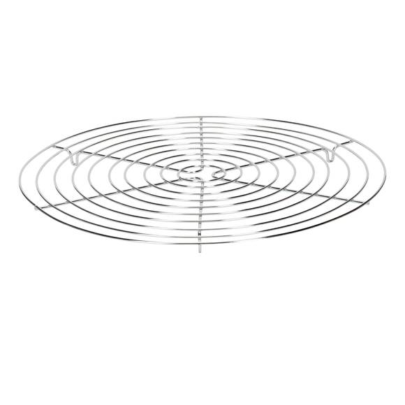 Griglia rotonda in acciaio inox 32cm