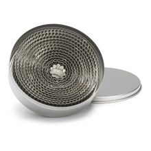 Achat en ligne Set de 14 emporte-pièces ronds cannelés en inox 2,5 à 11cm