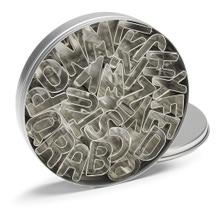 Achat en ligne Set de 26 emporte-pièces alphabet en inox 2,5cm