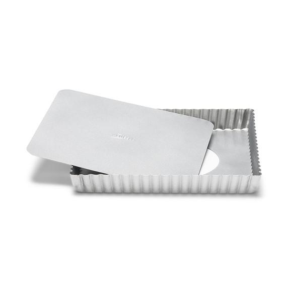 Tortiera quadrata con fondo amovibile 21x2,5cm