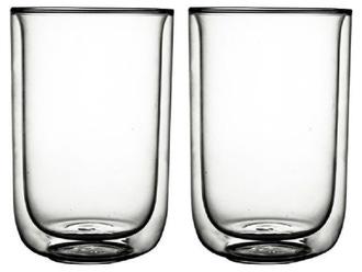 Set 2 mugs thé double paroi fika 400ml