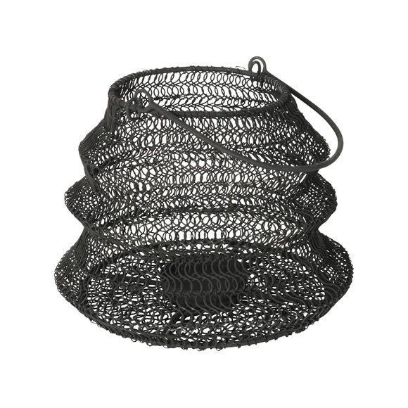 Lanterne extensible ø20x15cm Noir