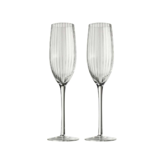 Flûtes champagne waterdrop
