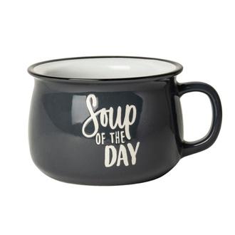 Bol à soupe gris 500 ml