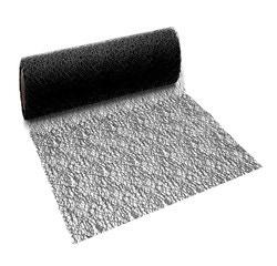 Achat en ligne Chemin de table crispy noir 2,5x0,28cm