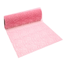 Achat en ligne Chemin de table crispy rose 0,28x2,5m